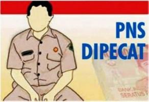 SK Pemecatan 14 PNS Pemkab Lamtim Sudah Diserahkan ke OPD Terkait