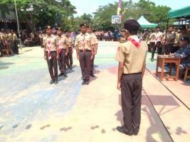 SMAN 15 Bandar Lampung Gelar Unjuk Prestasi Pramuka II