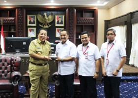 SMBR Dukung Pembangunan Infrastruktur di Lampung
