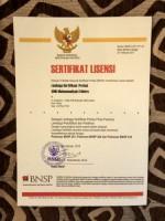 SMK Muhammadiyah 3 Metro Raih Sertifikat Lisensi LSP BNSP