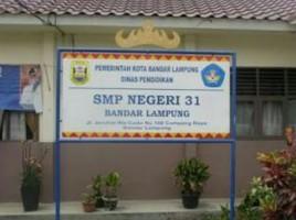 SMPN 31 Bandar Lampung Didaulat Sebagai Sekolah Model Antiterorisme dan Radikalisme