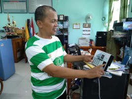 SMPN 9 Bandar Lampung Jajal Mesin Finger Scan Dapodik