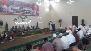 Songsong Ramadan Polres Lampura Gelar Tabligh Akbar
