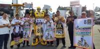 Sosialiasi SIM Seumur Hidup dan Penghapusan Pajak Motor, PKS Gelar Flashmob 88 Km Se-Lampung