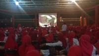 Srikandi PDIP Lampung Adakan Nobar Debat Capres Jilid II