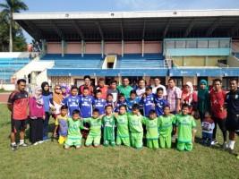 SSB Bina Bangsa Bandar Lampung Siap Bawa Pulang Medali Bandung Foodball Festival
