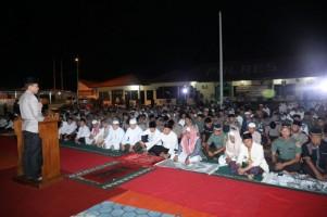 Subuh Berjamaah, Kapolres Ajak Ulama dan Warga Kampanyekan Pemilu Damai