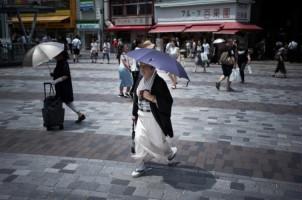 Suhu di Jepang Lampaui 40 Derajat Celcius