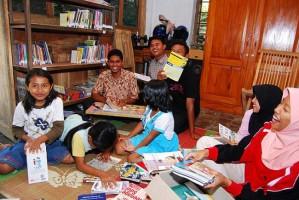 Sukseskan Program Literasi, Semua Pekon di Lambar Diminta Bangun Perpustakaan