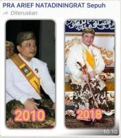 Sultan Sepuh Cirebon Viralkan Kebanggaannya pada Sekala Bkhak