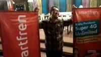 Super 4,5G Smartfren Jangkau 80% Wilayah Lampung