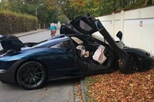 Supercar McLaren Rp15 Miliar Kecelakan Saat Pengiriman