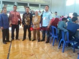 Surat Suara Pilbup Lampung Utara Mulai Dilipat Hari Ini
