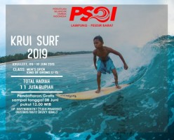 Pesisir Barat Gelar Kejuaraan Surfing untuk Peselancar Lokal