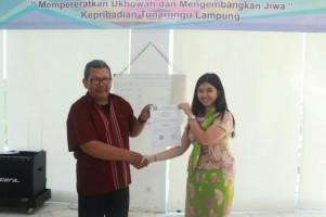 Susanti Terpilih Sebagai Ketua Gerkatin Lampung