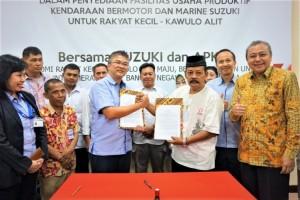 Suzuki Jalin Kerja Sama dengan Pedagang Kaki Lima