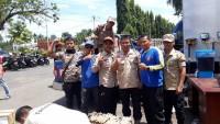 Tagana Pringsewu Bantu Korban Tsunami