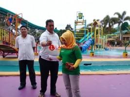 Tahun Baru 2019, Rara Lida Hibur Warga Lampung