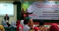 Tahun Depan UM Lampung Terima Mahasiswa Disabilitas Tunarungu