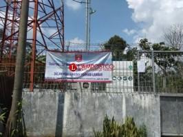 Tak Bayar PBB, Pemkab Lambar Segel Tower Telekomunikasi Milik PT Gihon