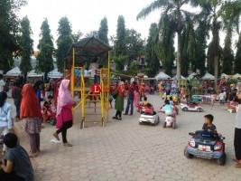 Taman Sahabat Jadi Lokasi Rekreasi Warga Kotabumi