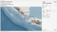 Tanggamus Diguncang Gempa 4SR