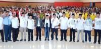 Target 70 Persen, TKD Jokowi-Ma'ruf dan Pengurus Rumah KMA Kalteng Dilantik