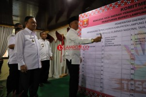 Lambar Launching Rencana Aksi Penanggulangan TBC