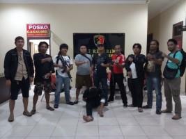 Tekab 308 Polres Lamteng Tangkap DPO Kasus Pencurian di Lampura