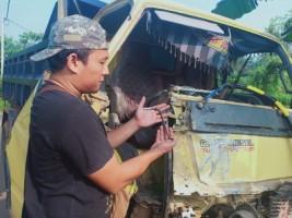 Tekab 308 Polres Tanggamus dan Polsek Pringsewu Kota Amankan Truk Curian