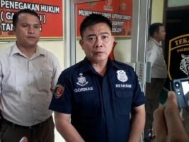 Tekab 308 Polres Tanggamus Tangkap Pencuri Kabel di Banten