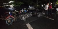 Tekab 308 Polres Way Kanan Amankan 12 Sepeda Motor Hasil Curian
