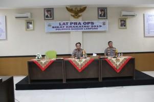 Tekan Kriminalitas, Polresta Bandar Lampung akan Gelar Operasi Sikat Krakatau