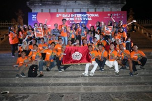 Teknokrat Sabet 2 Medali di Ajang Bali International Choir Festival 2019