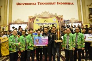TeknokratSabet Predikat Juara Umum KRI Regional I Sumatera 2019
