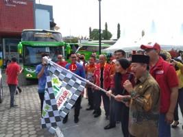 Telkomsel Fasilitasi 134 Pemudik Tujuan Yogya dan Bandung