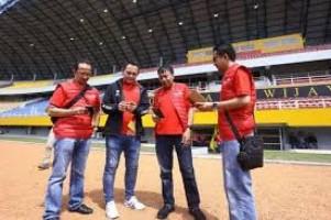 Telkomsel Pantau Kesiapan Jaringan di Jakabaring Sports Complex