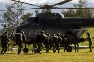 Temukan Jenazah Korban Penembakan, TNI-Polri Kuasai Gunung Kabo