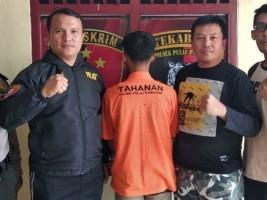 Tepergok Mencuri, Remaja asal Pulau Panggung Ditangkap