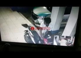 Tepergok Pemiliknya, Maling Gagal Bawa Kabur Motor di PLN Natar
