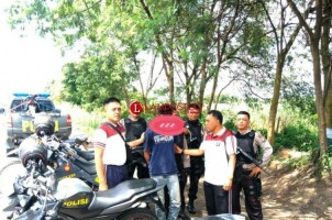 Terduga Pelaku Pencurian Motor Dibekuk