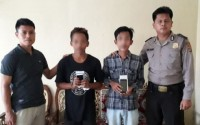 Terduga Pencuri Handphone dan Penadah Dibekuk