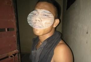 Tersangka Pemerkosa Tetangga Diamankan Polsek Sungkai Utara