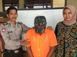 Tersangka Pencabulan Anak Diringkus Petugas Polsek Pulau Panggung