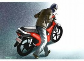 Tersangka Pencuri Sepeda Motor Ditangkap