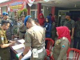 THLS Satpol-PP dan Damkar Lamsel Didata Ulang