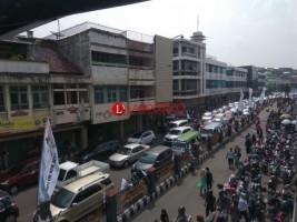 Tiap Liburan Panjang Tengah Kota Bandar Lampung Macet Total