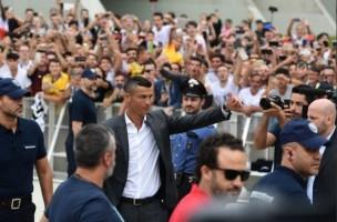 Tiba di Turin, Ronaldo akan Jalani Tes Kesehatan