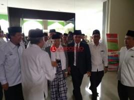Tiba di UIN, Kiai Ma'ruf Disambut Hangat Rektor