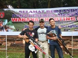 Tiga Atlet Terbaik Kobel SC Lampung Ikuti Kejuaran Menembak